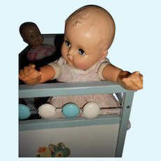 Vintage Baby Doll, Rubber body with Open and Close Eyes