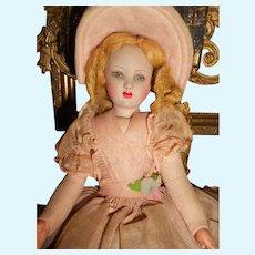 Petite French Raynal Boudoir Doll