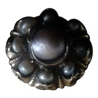 17th Century 18kt Gold and Natural Pearl Ring