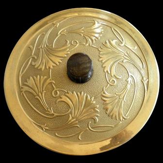 DeVilbiss Art Nouveau Vanity Powder Jar c.1928