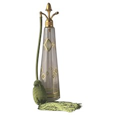 Beautiful Tall DeVilbiss Perfume Atomizer c.1924