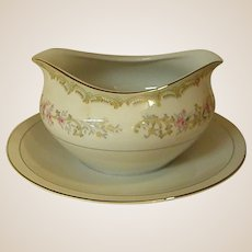 Kenwood Gravy Boat with Underplate by Meito China