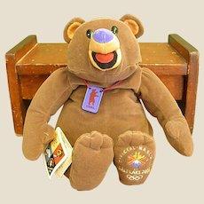 Official Salt Lake City Olympics Mattel Bear Mascot