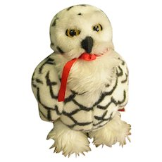 Beautiful Applause World Wildlife Fund Snowy Owl Plush Toy