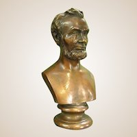 Wonderful Bronze Clad Sculpture of Abraham Lincoln