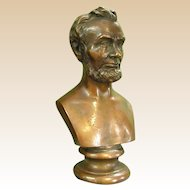 Wonderful Bronze Clad Sculpture of Abraham Lincoln