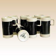 Set of Braniff International Espresso Mugs made by Hall China