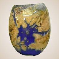 Signed Jared Davis Studio Art Glass Vase