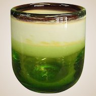 Early Glasshouse Covent Garden Studio Art Glass Vase