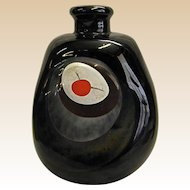 Signed Pauline Solven Studio Art Glass Vase Dated 1979 from Ravenshill Studio