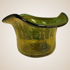 Early Signed David Traub Studio Art Glass Vase