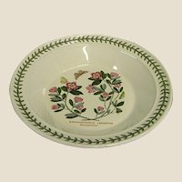 Beautiful Portmeirion Botanic Garden Rhododendron Rim Soup Bowl