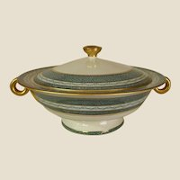 Stately Lines Theodore Haviland New York Mosaic Covered Serving Bowl