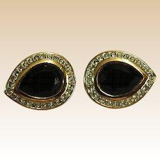 Sparkling Swarovski Clip-on Earrings
