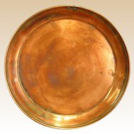 Vintage West Bend Solid Copper Tray