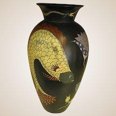 Fabulous 1960s Studio Art Vase by Margaret Forde