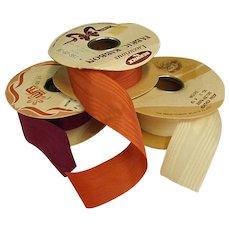Vintage Moire Ribbon – Three Spools