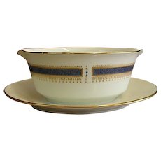 Noritake China Blue Dawn Gravy Boat
