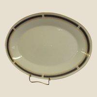 Noritake China Blue Dawn Large Oval Platter