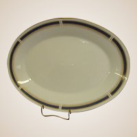 Noritake China Blue Dawn Large Oval Platter