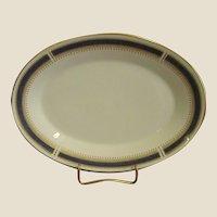 Noritake China Blue Dawn Oval Platter