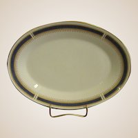 Noritake China Blue Dawn Oval Platter