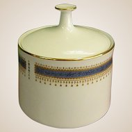 Noritake China Blue Dawn Sugar with Lid