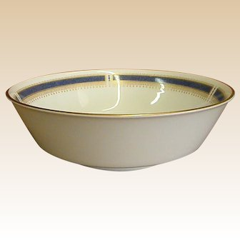 Noritake China Blue Dawn Round Serving Bowl