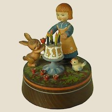"ANRI ""Happy Birthday"" Music Box"