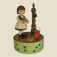 """ANRI """"My Wild Irish Rose"""" Music Box"""