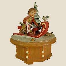 """ANRI """"Lara's Theme"""" Thoren's Swiss Music Works Music Box"""
