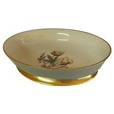 Avalon Sage Green Oval Vegetable Bowl by Flintridge China