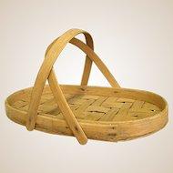Wonderful Splint Woven Gathering Basket