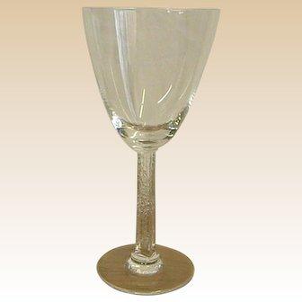 Classic Lalique Stemware Phalsbourg Bourgogne No. 3 Glass