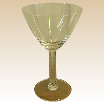 Classic Lalique Stemware Phalsbourg Tall Coupe Champagne Glass
