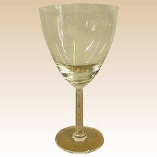 Classic Lalique Stemware Phalsbourg Tall Water Glass