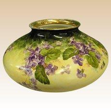 Beautiful Old Royal Art Italian Signed Vase