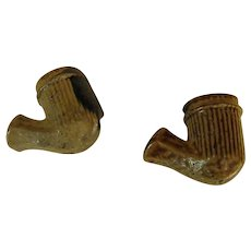 Early American Clay Tobacco Pipe Bowls