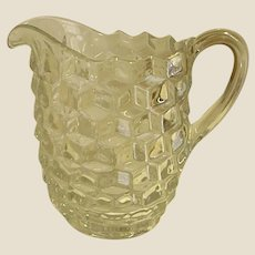Beautiful American Pattern Fostoria Pitcher