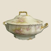 Gorgeous Theodore Haviland Porcelain Tureen, 1895-1903
