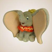 Darling 1990s Plush Gund Dumbo by Disney
