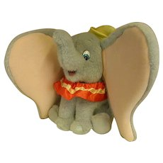 Darling 1990s Plush Gund Dumbo by Disney