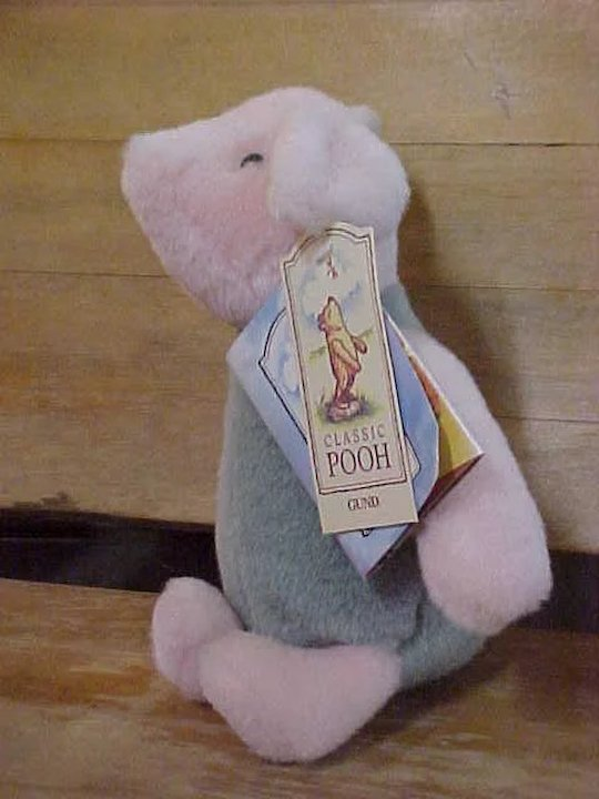 Vintage Classic Gund Winnie The Pooh Friends Set Of Six Sold Ruby Lane