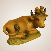 "ANRI Ox or Cow from 6"" Nativity Set by Juan Ferrandiz"