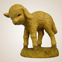 "ANRI Standing Lamb from 6"" Nativity Set by Juan Ferrandiz"