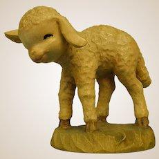 "ANRI Standing Lamb from 6"" Nativity Set by Juan Ferrandiz"