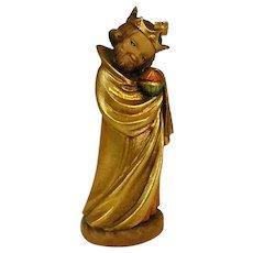 "ANRI Childlike Wise Man from 6"" Nativity Set by Juan Ferrandiz"