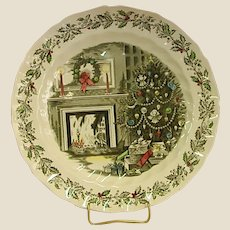 Johnson Brothers Merry Christmas Chop Plate