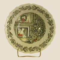 Johnson Brothers Merry Christmas Round Serving Bowl