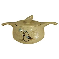 Mid-Century Bob White Pattern by Red Wing Quail One Quart Casserole